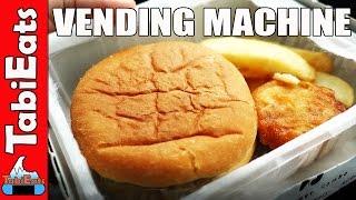 Download Hot Food Vending Machine in Japan-Hot Dogs, Burgers and Takoyaki Video