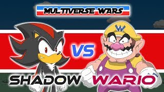 Download Shadow the Hedgehog vs Wario Animation - MULTIVERSE WARS Video