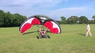 Download Paramotor Training, Quad, North Carolina, Brian Goff, ParaFlight, Brian W , PPG, Powered Paragliding Video