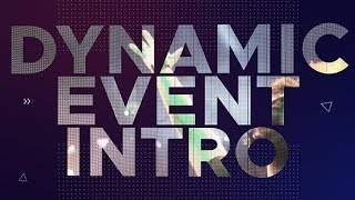 Download Dynamic Event Intro | After Effects template Video