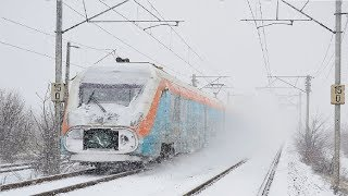 Download Live Train 24/7 Cab Ride - Train Driver's View in the World Railway Line in WINTER ! Best Awesome Video
