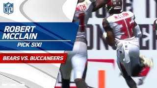 Download Robert McClain's Huge Pick 6! | Bears vs. Buccaneers | NFL Wk 2 Highlights Video