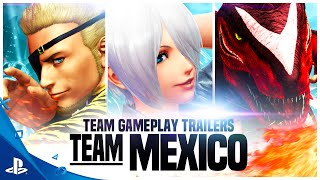 Download The King of Fighters XIV - Team Mexico Trailer | PS4 Video