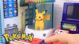 Download Pokemon GO Surprise Eggs Toys Slime Clay With Pokemon Center Playset Video