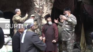 Download Syria: Chechnya delegation visits Aleppo weeks after cessation of fighting Video