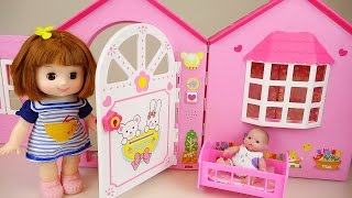 Download Baby doll house toy with Pororo and Kinder Joy toys play Video