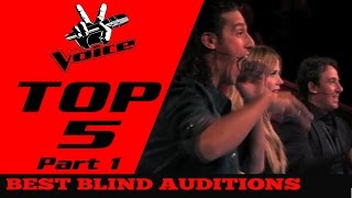 Download BEST TOP 5 THE VOICE in The World(Blind Auditions) Part 1 Video