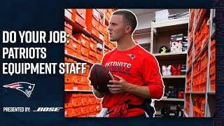 Download Behind the Scenes with the Patriots Equipment Staff | Do Your Job: Episode 1 Video
