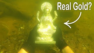 Download I Found a Rare Statue Underwater While Searching Drained River! VR180 (River Treasure) Video