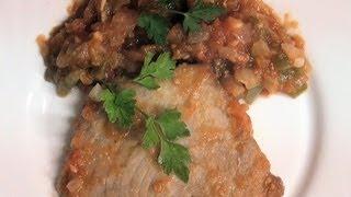 Download Solomillo de atún con tomate Vídeo receta 131 Aquí cocinamos todos. Cooking recipe Video