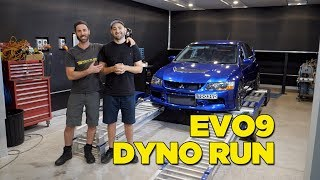 Download Real Dyno vs Supplied Dyno Sheet - EVO 9 Video
