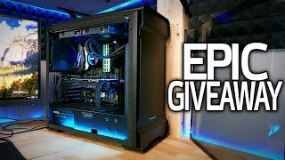 Download Giving Away the $2700 RGB Build to Celebrate 500K SUBSCRIBERS! Video