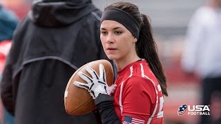 Download Female quarterback Madeleine Northern out to prove she belongs Video