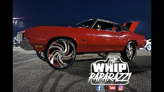 Download Red Oldsmobile Cutlass on Amani Petto Forged Wheels Video