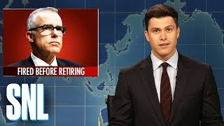 Download Weekend Update on Andrew McCabe's Firing - SNL Video