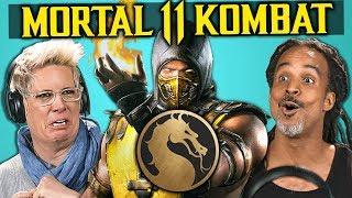 Download Parents React To Mortal Kombat 11 (Fatalities, Brutalities, Gameplay) Video