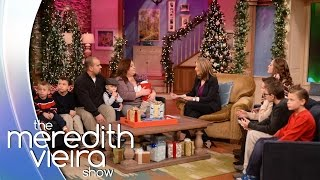 Download 'Secret Santa' Surprise For A Family Who Adopted 8 Brothers! | The Meredith Vieira Show Video