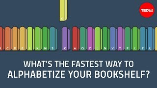 Download What's the fastest way to alphabetize your bookshelf? - Chand John Video