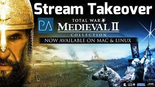 Download Stream Takeover: Live Online Battles (Medieval 2 Total War) Video