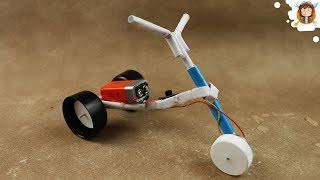 Download How to Make a Motorcycle - (Recycle - Toy) Video
