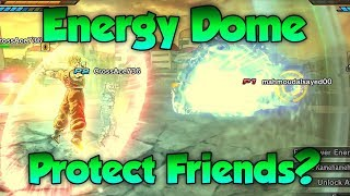 Download Can Energy Dome Protect Friends from Ultimates?! - Dragon Ball Xenoverse 2 Video