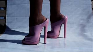 Download Italia P high heel sandal Video