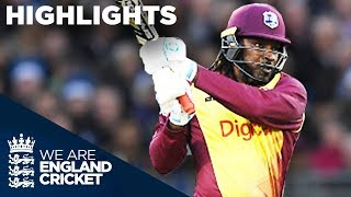 Download Huge Hitting From Gayle And Hales In Durham - Highlights: England v West Indies IT20 2017 Video