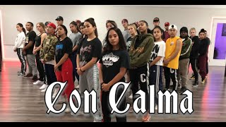 Download Daddy Yankee & Snow - Con Calma | Official video Rehearsal | Greg Chapkis Choreography Video