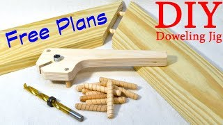 Download Shop Made Doweling Jig / FREE PLANS Video