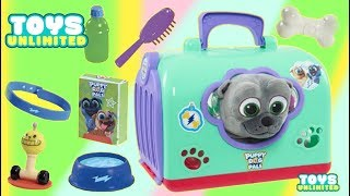 Download Disney Junior Puppy Dog Pals Groom And Go Bingo Pay Set Bath and Grooming! Video