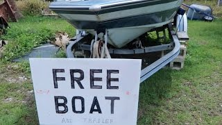 Download Free Boat While Dumpster Diving! Video