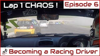 Download How to Become a Racing Driver [Ep6] - First Race *Lap 1 Mayhem* Video