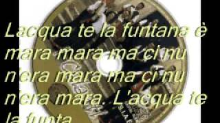 Download LA ZITELLA O L'ACQUA TE LA FUNTANA ″I CALANTI″ Video
