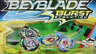 Download BEYBLADE BURST EVOLUTION! Star Storm Battle Set Unboxing & Review - Genesis Valtryek V3 & Satomb S3 Video