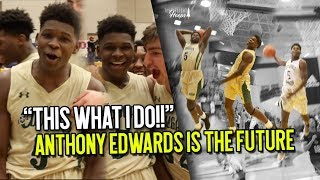 Download Most EXCITING SOPHOMORE IN THE COUNTRY??!! 5 Star Anthony Edwards Is THE FUTURE of HS Hoops Video