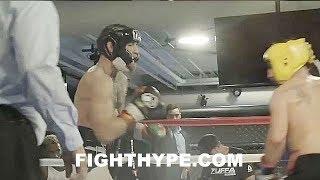 Download (WOW!!) MCGREGOR VS. MALIGNAGGI SPARRING FOOTAGE; MCGREGOR LIGHTS HIM UP AND DROPS HIM Video