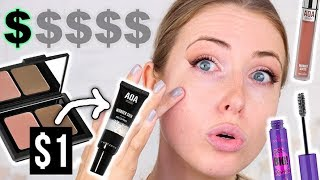 Download Full Face Using the CHEAPEST MAKEUP I OWN || Does It Work?? Video