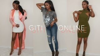 Download GITI Online Spring Try On Haul 2017 | Pitts Twins Video