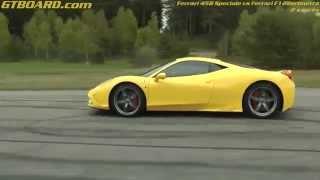Download Ferrari 458 Speciale vs F12Berlinetta x 2 races for GTBOARD Video