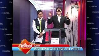 Download Humor: Candidato al Defensor del Pueblo necesita un traductor Video