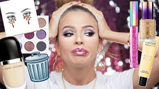 Download FULL FACE OF MAKEUP IM THROWING OUT! Video