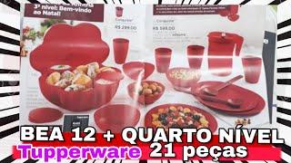 Download BEA 12 MAIS QUARTO NÍVEL: INCRÍVEL- 21 PEÇAS TUPPERWARE | Aldemi Junior Video