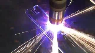 Download Excellent Edge Quality Plasma Cutting Steel Video