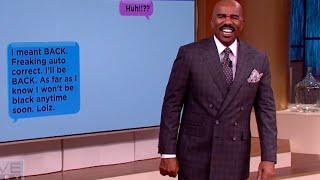 Download Steve Harvey's favorite autocorrect fails || STEVE HARVEY Video