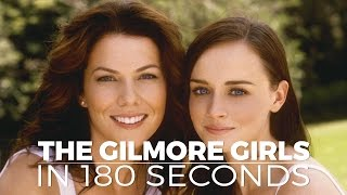 Download The Gilmore Girls In 180 Seconds Video