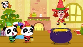 Download Baby Panda's Magic | Prepares Gifts for Friends | New Year Song | BabyBus Video