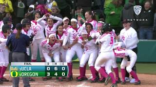 Download Recap: Shannon Rhodes walk-off three-run homer hands Oregon softball series win over UCLA Video