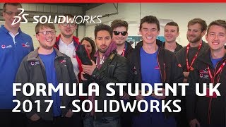 Download From SOLIDWORKS to Silverstone - Formula Student UK 2017 Video