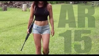 Download Hot body and an AR15 Farm Girl shoots and discusses her new Bushmaster! Video
