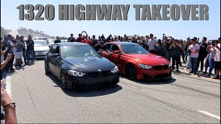 Download Street Racers SHUT DOWN California Highway! Video